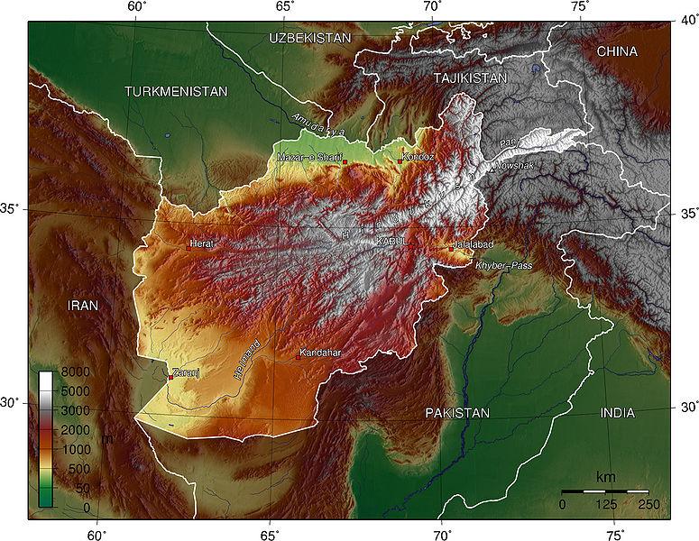 Negara Negara Tergagal di Muka Bumi ini..... 775px-Afghan_topo_en
