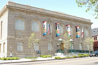 Oakland Public Library - Image: African American Museum and Library at Oakland (2008)