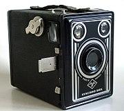 Agfa Box; Box 600, auch Synchro-Box genannt (1949 bis 1957)