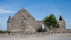 Abbey of Aghaboe - Image: Aghaboe Priory of St. Canice S 2010 09 02