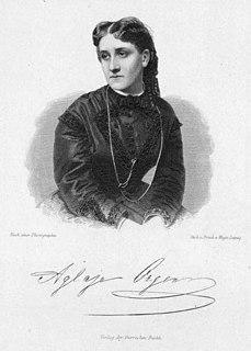 Aglaja Orgeni Hungarian operatic coloratura soprano