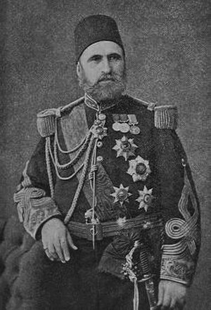 Mehmed Namık Pasha - Marshal Ahmed Fevzi Pasha, one of the founding fathers of the modern Ottoman army