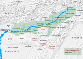 Ahom kingdom Kingdom in the Brahmaputra Valley in Assam, India