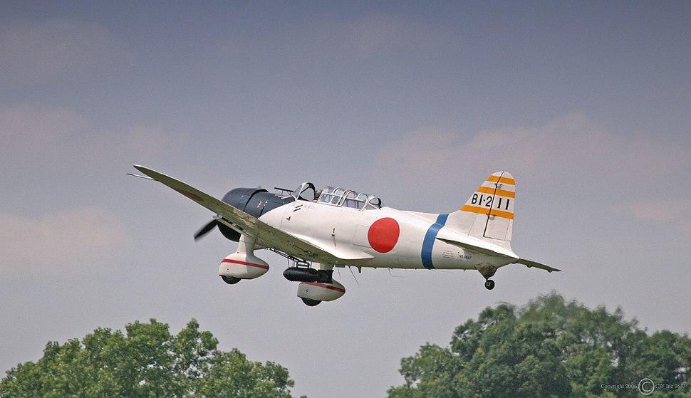 Aichi D3A Replica Airshow