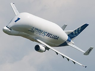Airbus Beluga Outsize cargo version of the A300-600 airliner