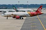 Air Malta (Valletta European Capital of Culture livery), 9H-AEO, Airbus A320-214 (28344049152).jpg