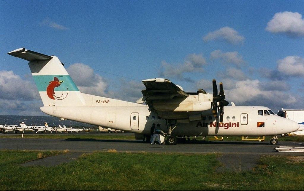 de Havilland Canada 1024px-Air_Niugini_DHC-7_PER_Wheatley-1