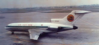 Air Vietnam - Boeing 727-100, in 1971