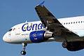 Airbus A320-212 Condor D-AICC Snoopy Special Scheme (6525632425).jpg