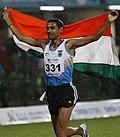 Ajay Kumar Saroj Won Gold For India In 1500m.jpg