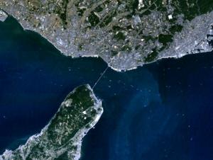 Akashi Strait - Image: Akashi Strait 1