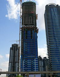 Al Tayer Tower Under Construction on 28 December 2007.jpg