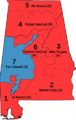 Alabama US House districts with Representatives.png