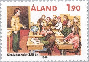 Aland post 1989 School.jpg