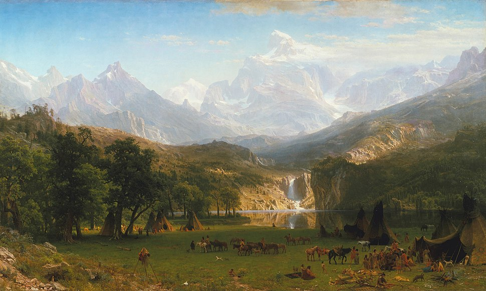 Albert Bierstadt - The Rocky Mountains, Lander%27s Peak