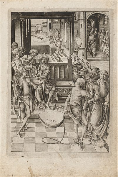 File:Album with Twelve Engravings of The Passion, a Woodcut of Christ as the Man of Sorrows, and a Metalcut of St. Jerome in Penitence MET DP167209.jpg