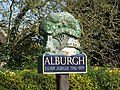Alburgh Village Sign - geograph.org.uk - 384093.jpg