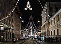 Aleksanterinkatu street at Christmas time - Marit Henriksson 2.jpg