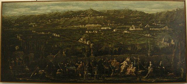 File alessandro magnasco trattenimento in un giardino di albaro 01 jpg wikimedia commons - Il giardino di albaro ...