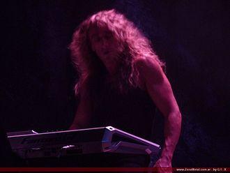 Alex Staropoli - Alex Staropoli performing in Buenos Aires, Argentina in 2010.