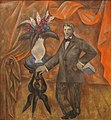 Alexander Shevchenko (1883-1948), Portrait of a Poet (1913), oil on canvas, New Tretyakov Gallery, Moscow, Inv. 11958.jpg