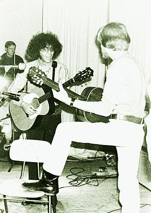 Alexis Korner - Korner and Peter Thorup in Bremen