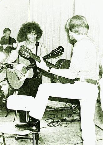 Alexis Korner - Korner and Peter Thorup in Bremen