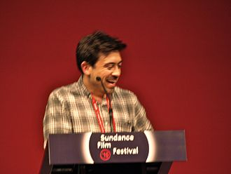 Me and Earl and the Dying Girl (film) - Director Alfonso Gomez-Rejon at the 2015 Sundance Film Festival.