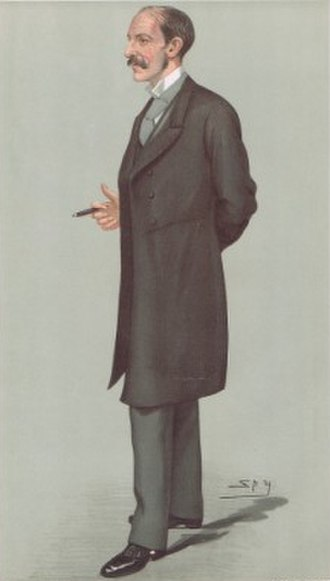 Alfred Milner, 1st Viscount Milner - A caricature of Milner from Vanity Fair in 1897