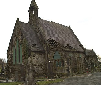 Listed buildings in Ince-in-Makerfield - Image: Alfred Waterhouse in Ince in Makerfield geograph.org.uk 1167521