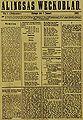 Alingsås Weckoblad framsida.jpg