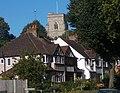 All Saints Benhilton from a distance, SUTTON, Surrey, Greater London (2) - Flickr - tonymonblat.jpg