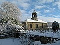 All Saints Church, Brandsby, in the snow - geograph.org.uk - 1728507.jpg