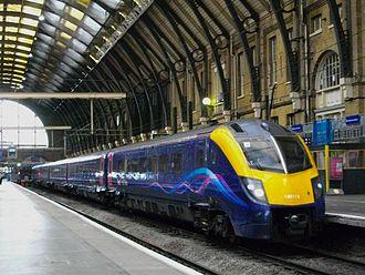 British Rail Class 180 - Image: Alstom Class 180 Adelante 180113 A A KGX