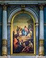 Altare del SS Sacramento pala Michelangelo Grigoletti duomo nuovo Brescia.jpg