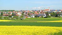 Altheim (bei Ehingen) - Ortsansicht von Süden, Hochsträß.JPG