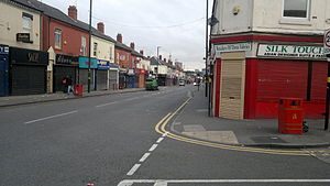 Alum Rock, Birmingham - Image: Alum Rock Road Saltley Birmingham View