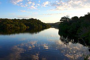 Jaú National Park - Image: Amanhecer no Amazonas