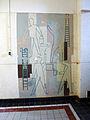 Ambachtsschool Gouda. Muurschildering in strakke lijnen.jpg