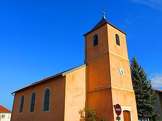 Amelécourt - The church in Amelécourt
