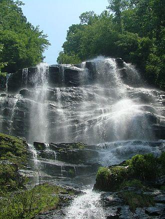 Waterfalls of North Georgia - Amicalola Falls in Dawson County, Georgia, USA