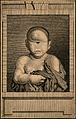 An infant with one central eye. Engraving. Wellcome V0007405.jpg