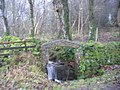 An unusual Arch over the beck. - geograph.org.uk - 86915.jpg