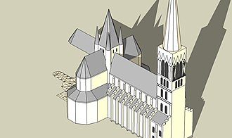 Old Cambrai Cathedral - Image: Ancienne Cathedrale de Cambrai