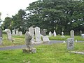 Ancient stone cross in Penmarth Cemetery - geograph.org.uk - 868349.jpg