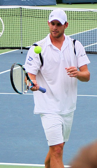 2003 ATP Tour - Andy Roddick finished the no. 1 year ranking, including his victory at the US Open.