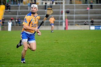 Andy Smith (hurler) - Andy Smith in action for Portumna in 2013