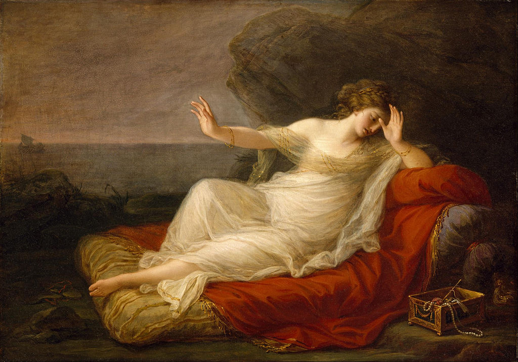 Ariadne Abandoned by Theseus by Angelica Kauffman