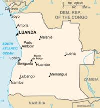 karta angola Angola – Wikipedia karta angola