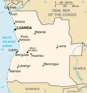 List of airports in Angola Wikipedia